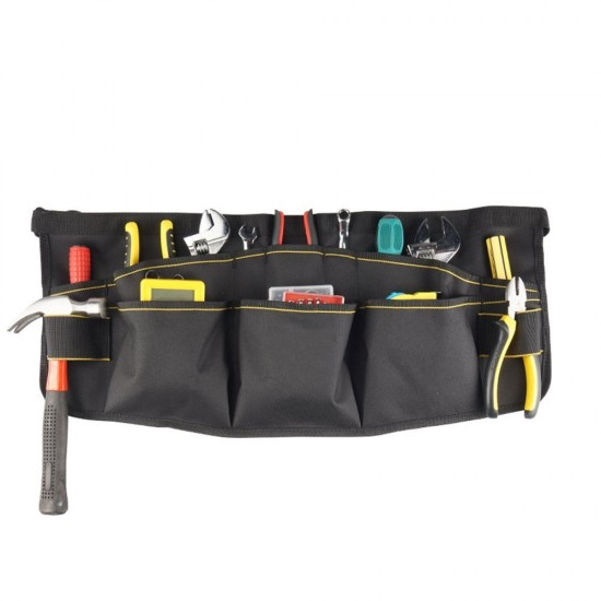 mylifeunit electrician tool belt electrician tool pouch belt with pockets 12