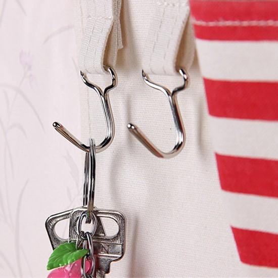 MyLifeUNIT: Over The Door Cotton Storage Pockets, Wall Door Cloth Hanging  Storage Bag Case 7 Pocket Home Organizer (blue)