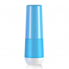 Travel Toothbrush Holder, Portable Gargle Cup Holder Tooth Mug, Toothbrush and Toothpaste Container (Blue)