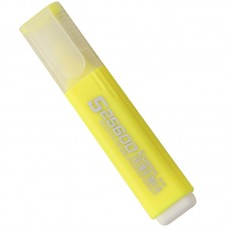 Highlighter Marker Pen Stationery School Supplies,Set Of 10 (Yellow)