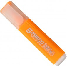 Highlighter Marker Pen Stationery School Supplies,Set Of 10 (Orange)