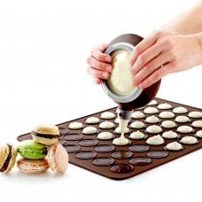Macaron Kit with Decomax Pen and 30 Capacity Baking Mat