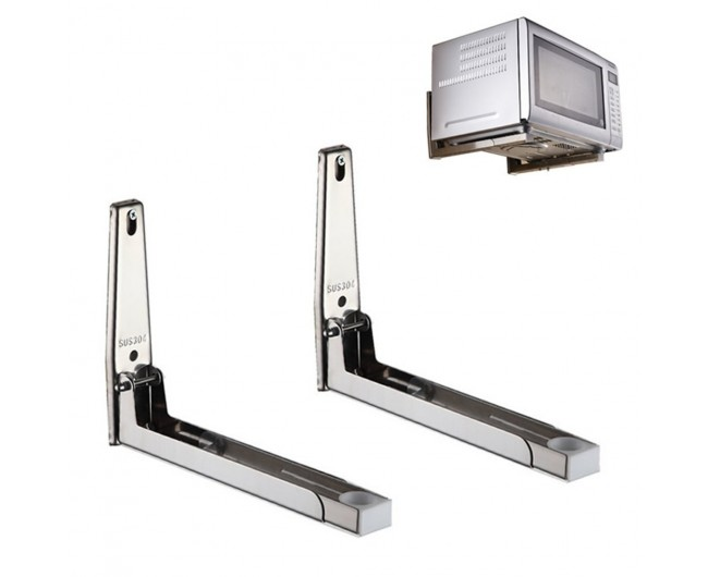304 Stainless Steel Microwave Oven Wall Mount Bracket