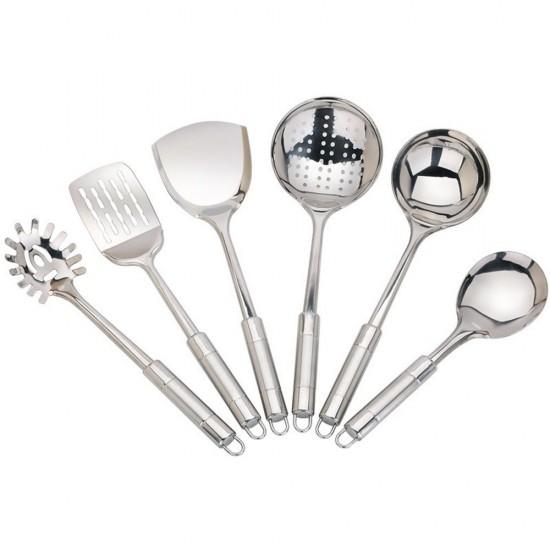 MyLifeUNIT: 7-piece Kitchen Utensils Sets, Stainless Steel ...