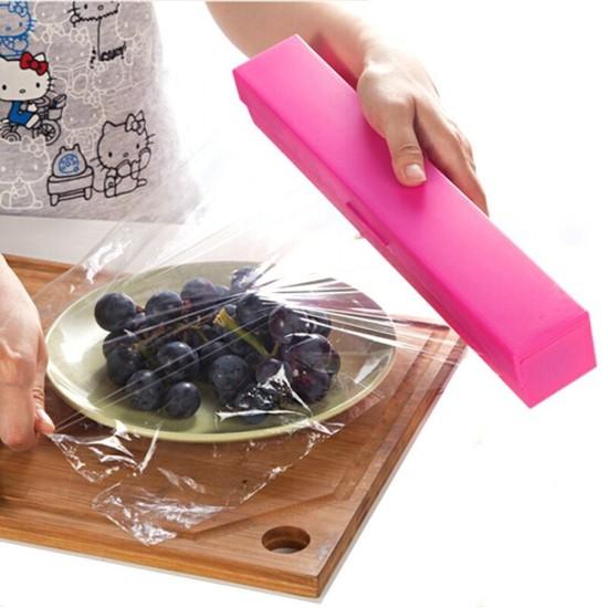 Mylifeunit Hand Held Food Wrap Dispenser Seal Plastic
