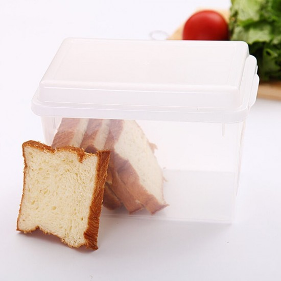 MyLifeUNIT Bread Box with Lid Toast Storage Container Bread Keeper