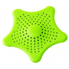 3 Pcs Colorful Starfish Drain Cover , Rubber Sink Strainer for Kitchen and Bathroom