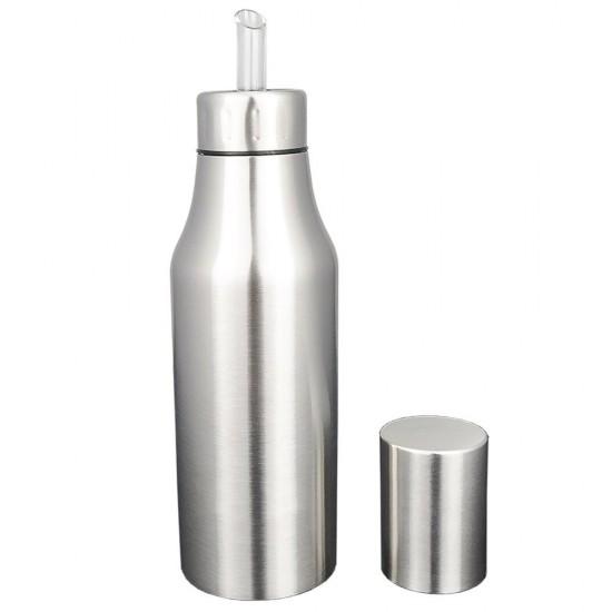 mylifeunit stainless steel olive oil dispenser leakproof oil bottle. Black Bedroom Furniture Sets. Home Design Ideas