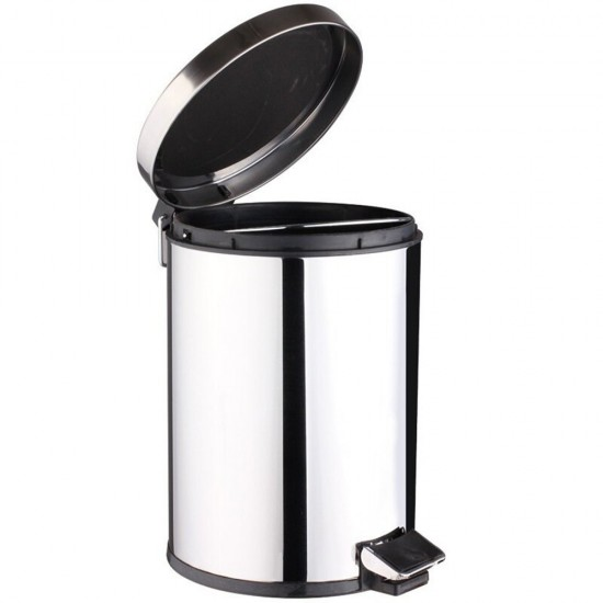 small trash can for stainless steel round step can 7l 18 gallons