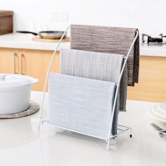Kitchen Hand Towel Hooks: MyLifeUNIT: Free Standing Kitchen Towel Rack, Fingertip