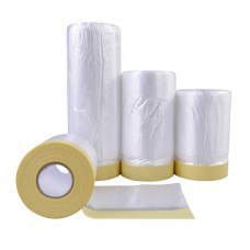 Tape and Drape, Assorted Masking Paper for Automotive Painting Covering (66-Feet, 3 Sizes)