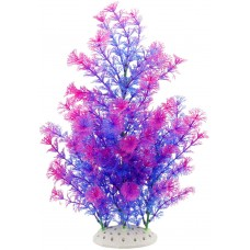 Artificial Aquarium Plants for Fish Tank Decorations Large (Purple)