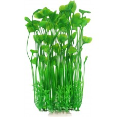Large Aquarium Plants, Artificial Plastic Fish Tank Plants for Aquarium Decorations, 15.75 Inches (Green)
