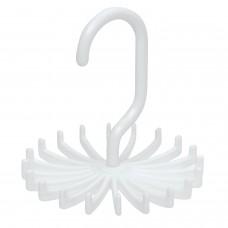 Tie Rack Silk Scarf Hanger, Adjustable, Set of 2