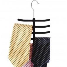 Non Slip Tie Racks Silk Scarf Racks Hangers ( 2pack )