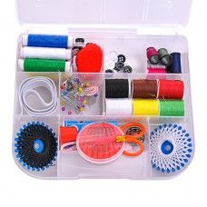 Portable Sewing Kit Box for Travel & Home