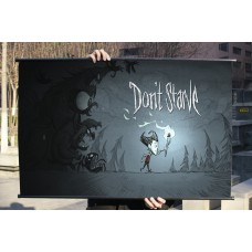 "Don't Strave Fabric Wall Scroll Poster, 32"" x 20"" (80cm x 50cm) (Don't Starve)"