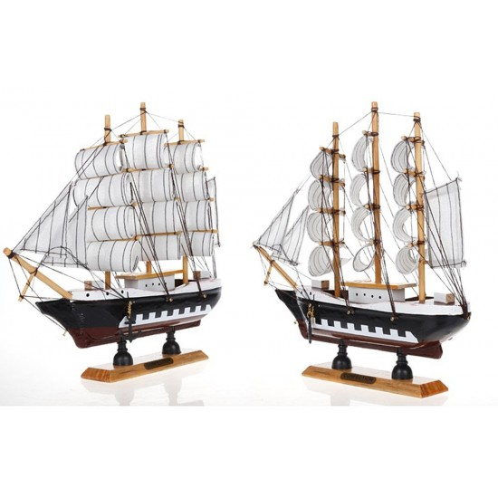 "Boat Home Decor: MyLifeUNIT: Vintage Nautical Wooden Model Ships 9"" Wood"