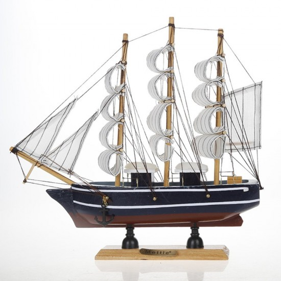 """Sailboat Home Decor: MyLifeUNIT: Vintage Nautical Wooden Model Ships 9"""" Wood"""