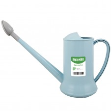 Watering Can for Indoor Plants, Plastic Small Watering Can with Sprinkler Head (1/2-Gallon) (Blue)