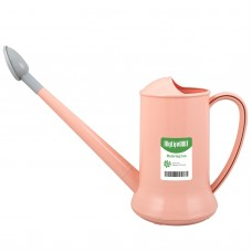 Watering Can for Indoor Plants, Plastic Small Watering Can with Sprinkler Head (1/2-Gallon) (Pink)