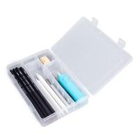 Translucent Art Supply Storage Box, Multifunctional Student Art Storage  Organizer