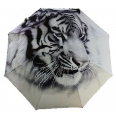 Life of Pi Tiger Automatic Folding Travel Compact Umbrella