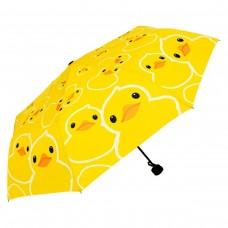 Bath Rubber Duck Automatic Folding Compact Umbrella