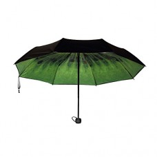 Kiwi Fruit Automatic Folding Compact Umbrella