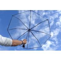 Clear Folding Compact Umbrella