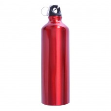 Aluminum Sports Water Bottle 750 ml (26 oz), 3 Colors Sports Bottle, Red