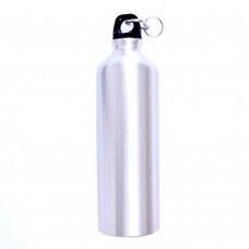 Aluminum Sports Water Bottle 750 ml (26 oz), 3 Colors Sports Bottle, White