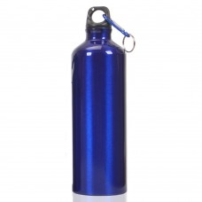 Aluminum Sports Water Bottle 750 ml (26 oz), 3 Colors Sports Bottle, Blue