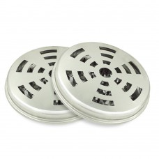 Mosquito Coil Holder, Tin Mosquito Sandalwood Incense Coil Burner (Set of 2)