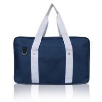 Japanese School Bag, Horizontal Anime High School Bag for Cosplay (Blue)