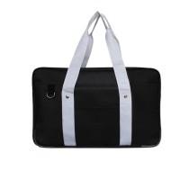 Japanese School Bag, Horizontal Anime High School Bag for Cosplay (Black)