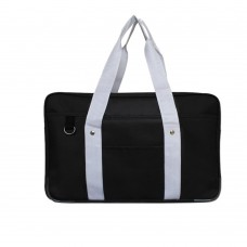 Japanese School Bag, Horizontal Anime High School Bag for Cosplay (Black)