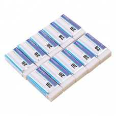 Drawing Drafting Erasers for School, Colored Pencil Rubber Erasers (10 PCS)