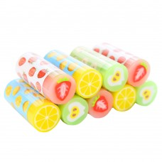 Fruit Erasers, School Office Supplies Pencil Drawing Rubber Erasers (9 PCS)
