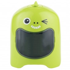Automatic Pencil Sharpener, Cute Electrical Pencil Sharpener for School Office Supply (Green)