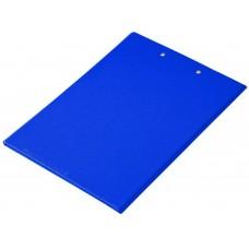 Clipboard Folder with Pocket, Clipboard Padfolio File Folder, Letter Size or A4 Size (Blue)