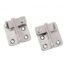 Stainless Steel Flip Latch, Safety Door Lock Bolt Latch, 2 Pack