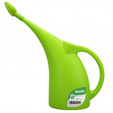 Plastic Small Watering Can for Indoor Plants, 1/2-Gallon with Shower Head