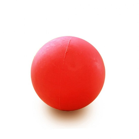 Rubber Ball Dog Toy : Mylifeunit rubber red ball training toy chew for dogs
