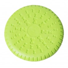 Rubber Soft Frisbee Dog Toy Dog Frisbee Game Frisbee Bite Resistant Pet Training Supplies,Pack of 1.