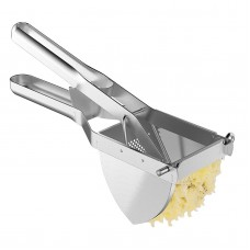 Heavy Duty Commercial Potato Ricer, Stainless Steel Business Potato Ricer and Masher