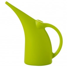 Plastic Watering Can, Elegant Watering Pot, 1/2-Gallon (Green)