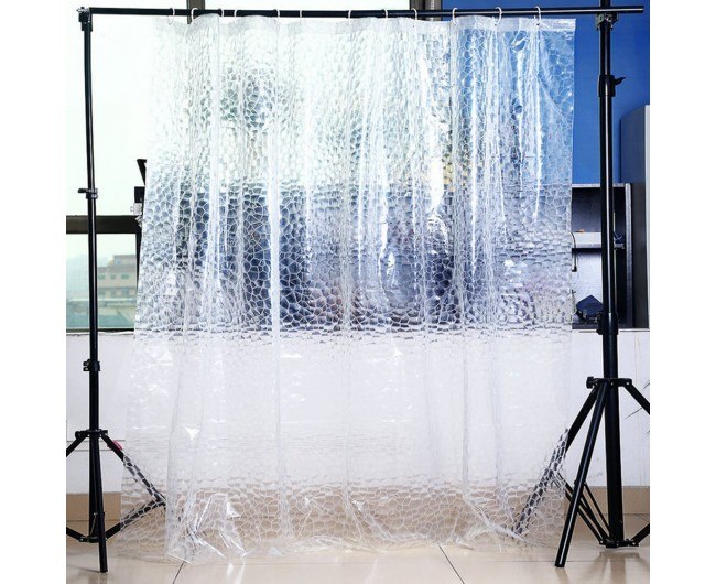 3D Water Cube Shower Curtain Liner Waterproof Mold
