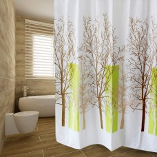 Sky Tree Waterproof Shower Curtains, 72 x72 Inch, Thick