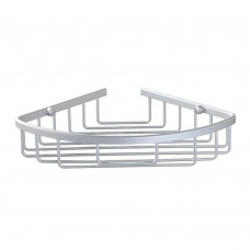 Aluminum Wall Mount Shower Caddy Corner Backet Shelf 170mm Radius (1)